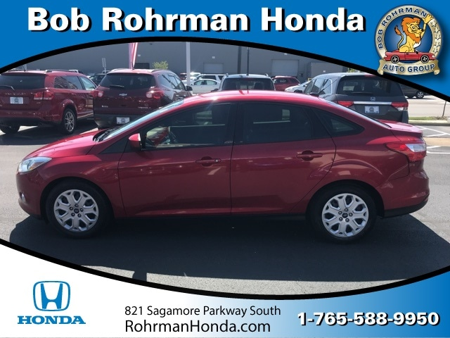 Bob Rohrman Ford >> Used 2012 Ford Focus For Sale At Bob Rohrman Honda Vin