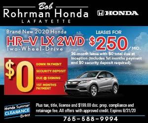 Brand New 2020 Honda HR-V LX 2WD