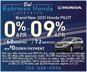 Brand New 2021 Honda PILOT