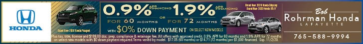 0.9% APR for 60 Months With $0 Down Payment