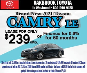 Brand New 2021 Toyota CAMRY LE