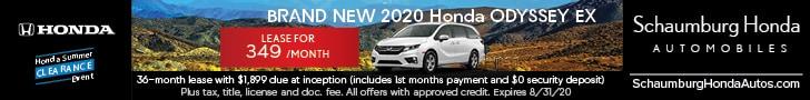 Brand New 2020 Honda ODYSSEY EX