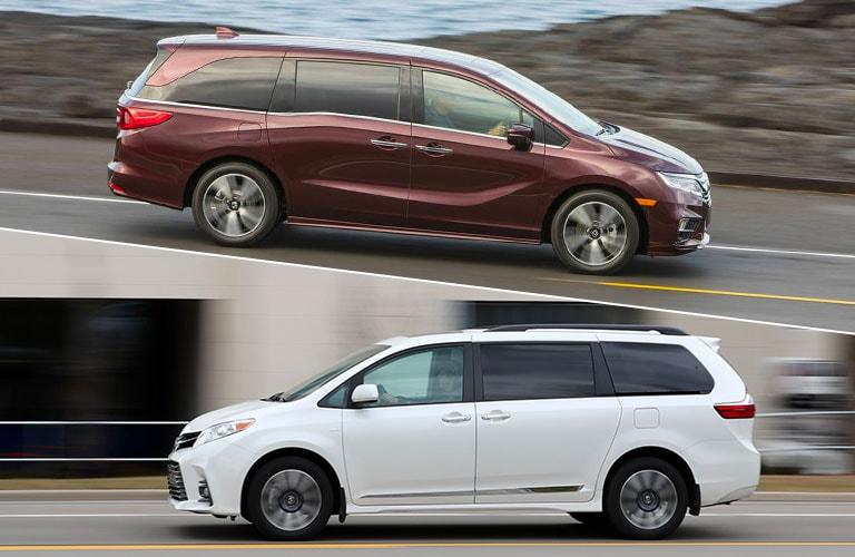 Honda Odyssey Ex L Vs Touring >> 2019 Honda Odyssey vs 2019 Toyota Sienna | Schaumburg ...