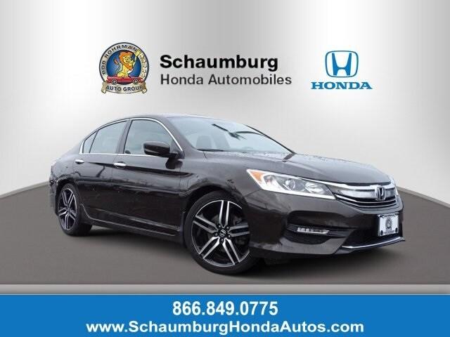 Used 2016 Honda Accord For Sale At Schaumburg Honda Automobiles