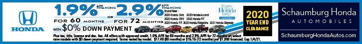 1.9% APR for 60 Months With $0 Down Payment or