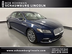 Certified 2017 Lincoln Continental Select Sedan in Schaumburg, IL