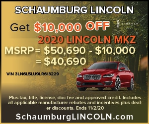 Get $10,000 OFF 2020 LINCOLN MKZ