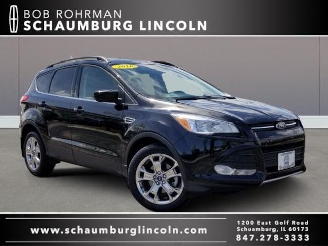 Bob Rohrman Ford >> Used 2016 Ford Escape For Sale At Bob Rohrman Schaumburg Lincoln