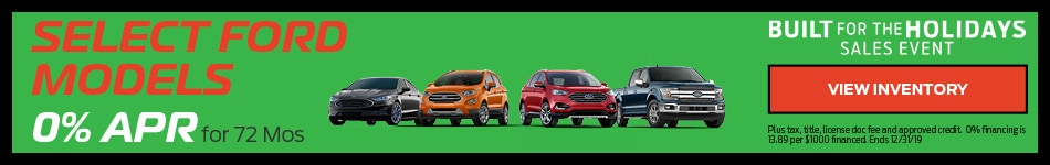 Select Ford Models - APR