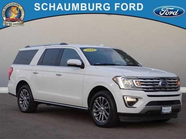 Certified Pre-Owned 2018 Ford Expedition Max Limited SUV For Sale in Schaumburg, IL