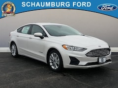 New 2019 Ford Fusion Hybrid SE Sedan in Schaumburg