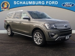 New 2019 Ford Expedition Max Platinum SUV in Schaumburg