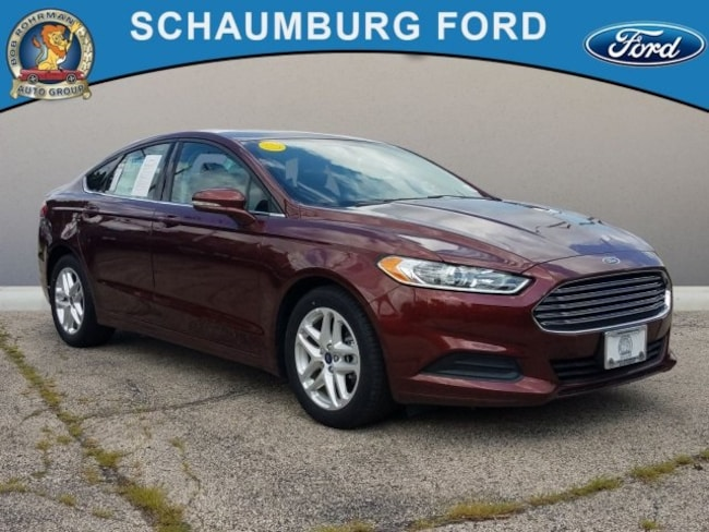 Used 2016 Ford Fusion SE Sedan For Sale in Schaumburg, IL