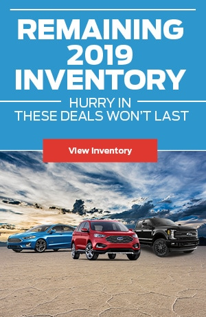 Remaining 2019 Inventory!