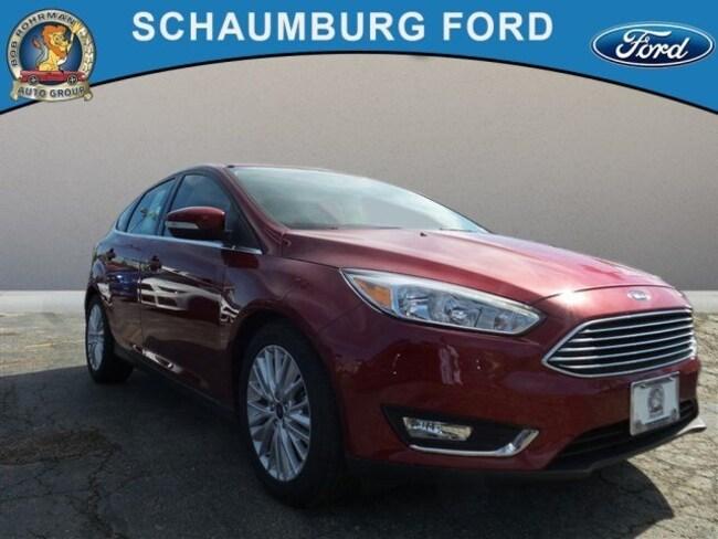 New 2017 Ford Focus Titanium Hatchback For Sale in Schaumburg, IL