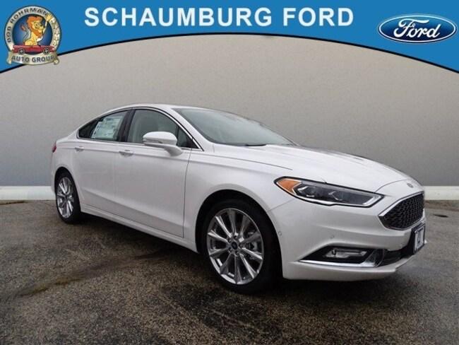 New 2017 Ford Fusion Platinum Sedan For Sale in Schaumburg, IL