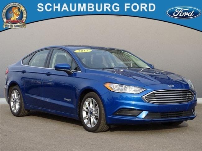 Used 2017 Ford Fusion Hybrid SE Sedan For Sale in Schaumburg, IL