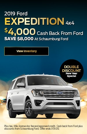 2019 Ford Expedition - Cash Back