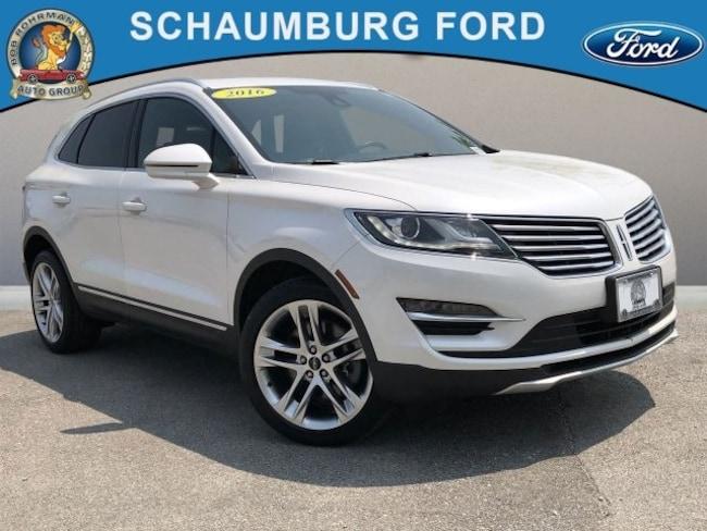 Bob Rohrman Used Cars >> Used 2016 Lincoln Mkc For Sale Schaumburg Il