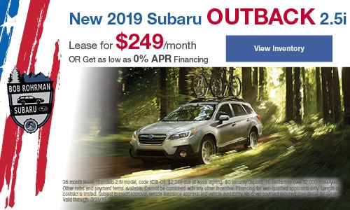2019 Subaru Outback - July