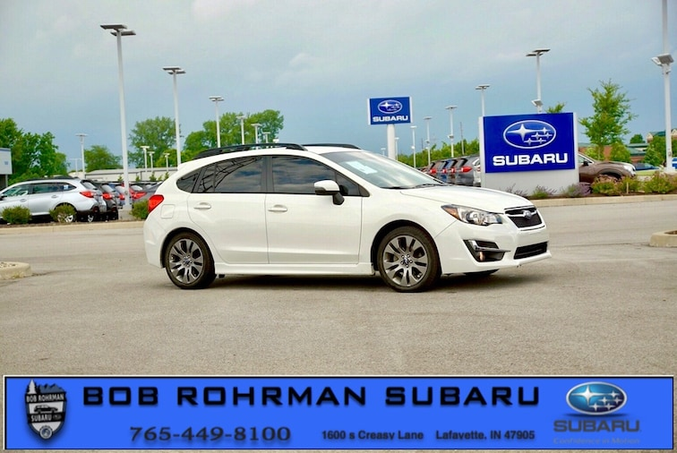 Used 2016 Subaru Impreza 2.0i Sport Premium Hatchback for sale in Lafayette, IN at Bob Rorhman Subaru