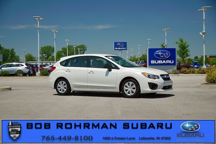 Used 2014 Subaru Impreza 2.0i Hatchback for sale in Lafayette, IN at Bob Rorhman Subaru