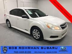2011 Subaru Legacy 2.5i Sedan for sale in Lafayette, IN