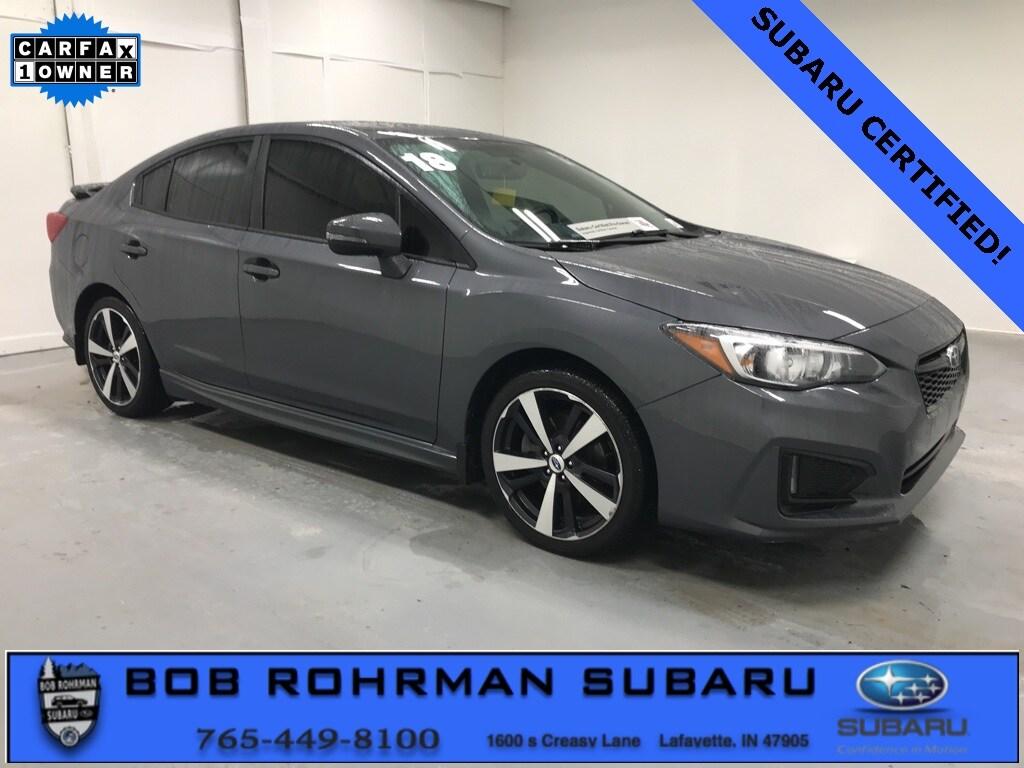 2018 Subaru Impreza 2.0i Sport Sedan