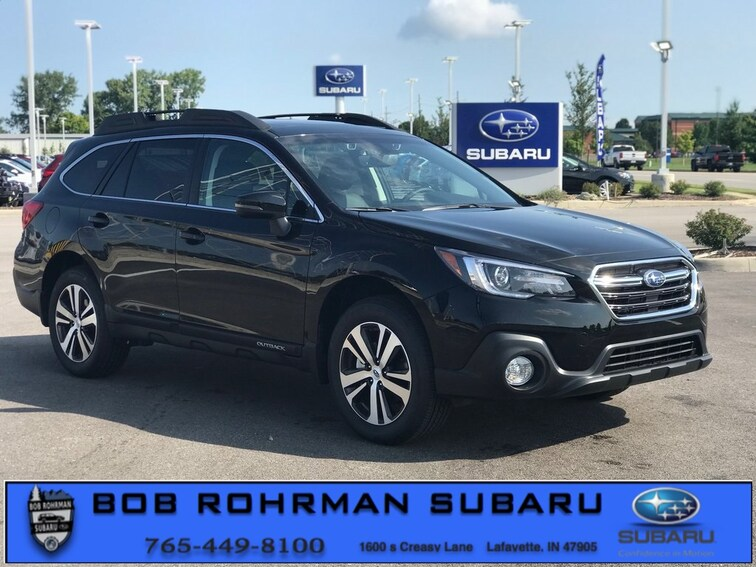 New 2019 Subaru Outback 2.5i Limited SUV for sale in Lafayette, IN at Bob Rorhman Subaru