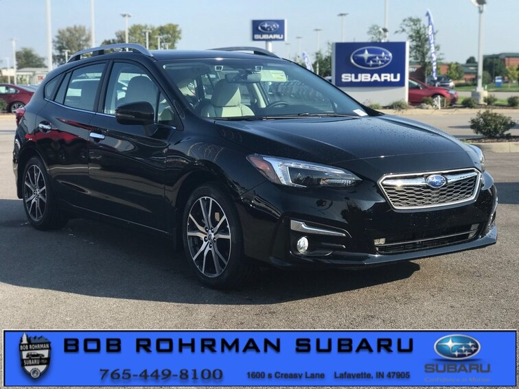 New 2019 Subaru Impreza 2.0i Limited 5-door for sale in Lafayette, IN at Bob Rorhman Subaru