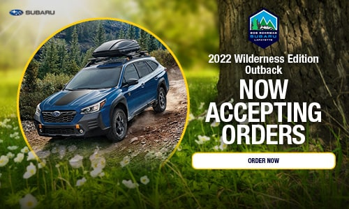 2022 Wilderness Edition Outback