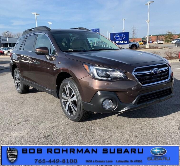 New 2019 Subaru Outback 2.5i Limited SUV for sale in Lafayette, IN at Bob Rorhman Subaru