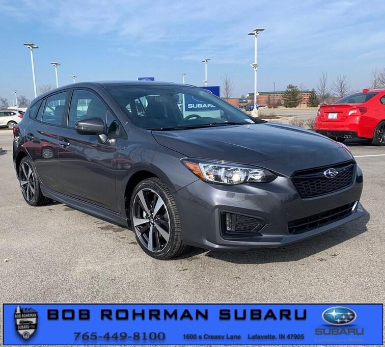 New 2019 Subaru Impreza 2.0i Sport 5-door for sale in Lafayette, IN at Bob Rorhman Subaru