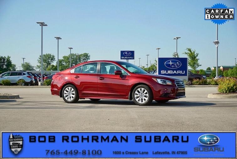 Used 2016 Subaru Legacy 2.5i Sedan for sale in Lafayette, IN at Bob Rorhman Subaru