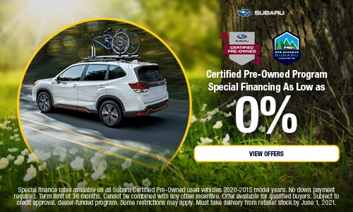 Certified Pre-Owned Program