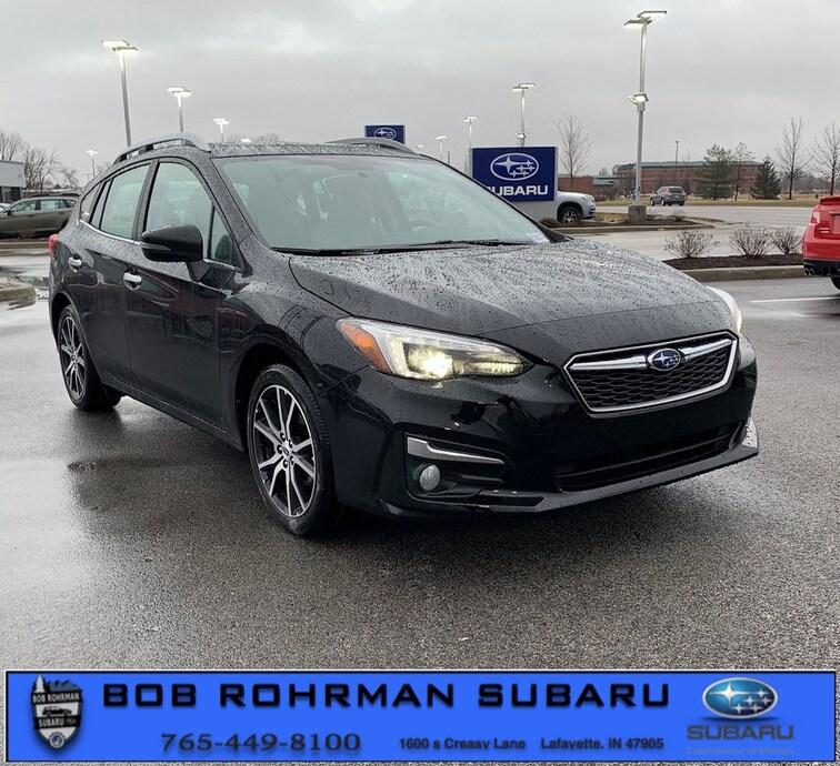 New 2019 Subaru Impreza 2.0i Limited 5-door for sale in Lafayette, IN at Bob Rorhman Subaru