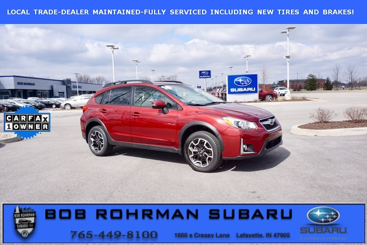 Used 2016 Subaru Crosstrek 2.0i Limited SUV for sale in Lafayette, IN at Bob Rorhman Subaru