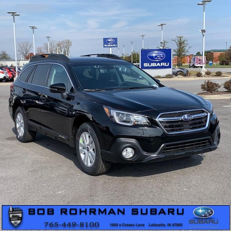New 2019 Subaru Outback 2.5i Premium SUV for sale in Lafayette, IN at Bob Rorhman Subaru