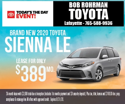 Brand New 2020 Toyota SIENNA LE