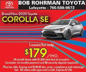 Brand New 2020 Toyota COROLLA SE