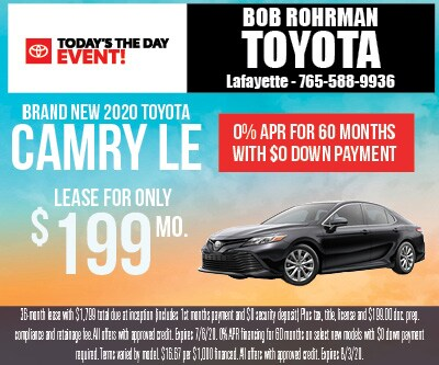 Brand New 2020 Toyota CAMRY LE