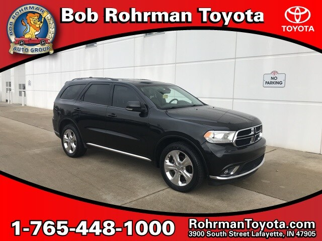Bob Rohrman Used Cars >> Used 2014 Dodge Durango For Sale Lafayette In 1c4rdjdg6ec586606