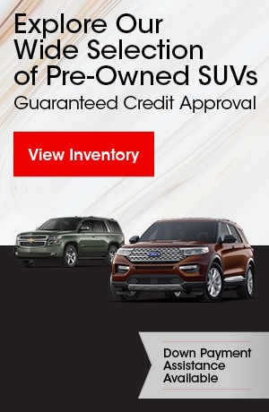 Explore Our Wide Selection of Pre-Owned SUVs