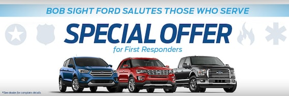 Ford First Responder >> First Responders Offers Bob Sight Ford Inc Lees Summit Mo