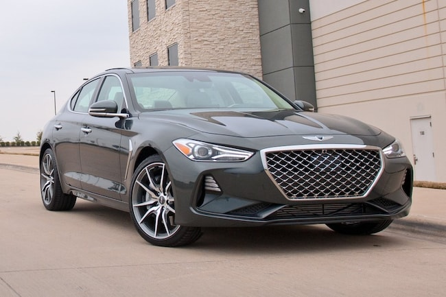 New 2019 Genesis G70 3.3T Design Sedan in Dallas, TX