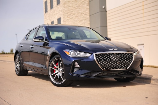 New 2019 Genesis G70 3.3T Advanced Sedan in Dallas, TX