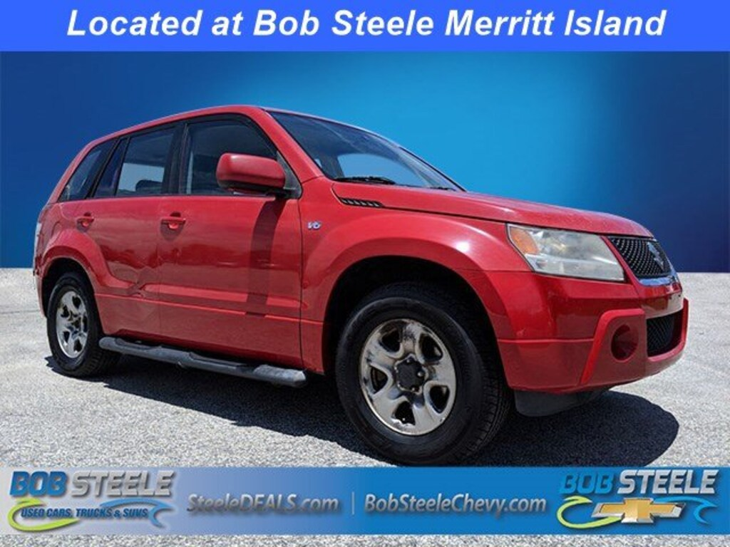 Used 2008 Suzuki Grand Vitara For Sale at Bob Steele Used Cars, Trucks &  SUVS | VIN: JS3TE941884104165