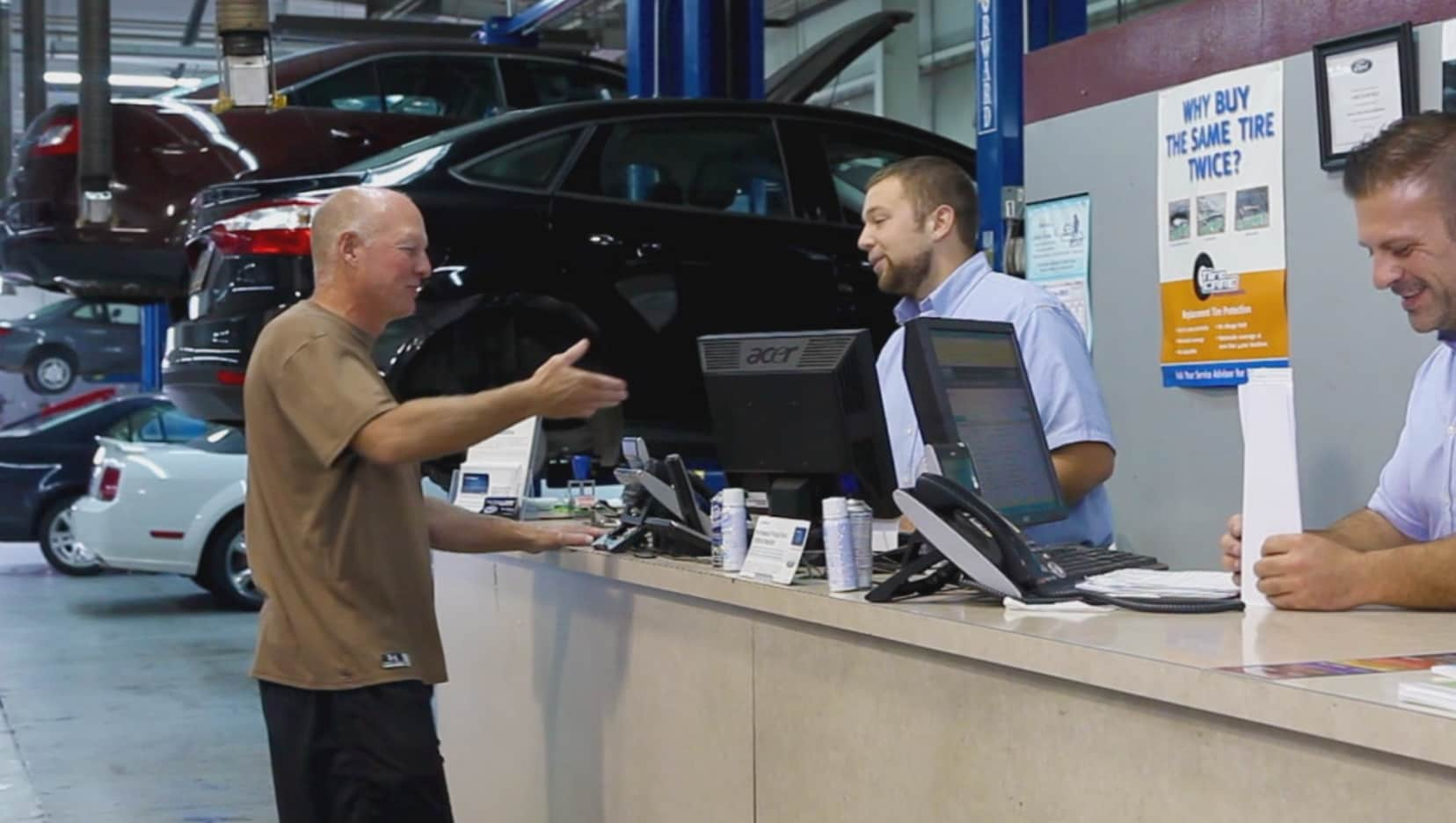 ford service fort wayne in auto repair maintenance. Black Bedroom Furniture Sets. Home Design Ideas