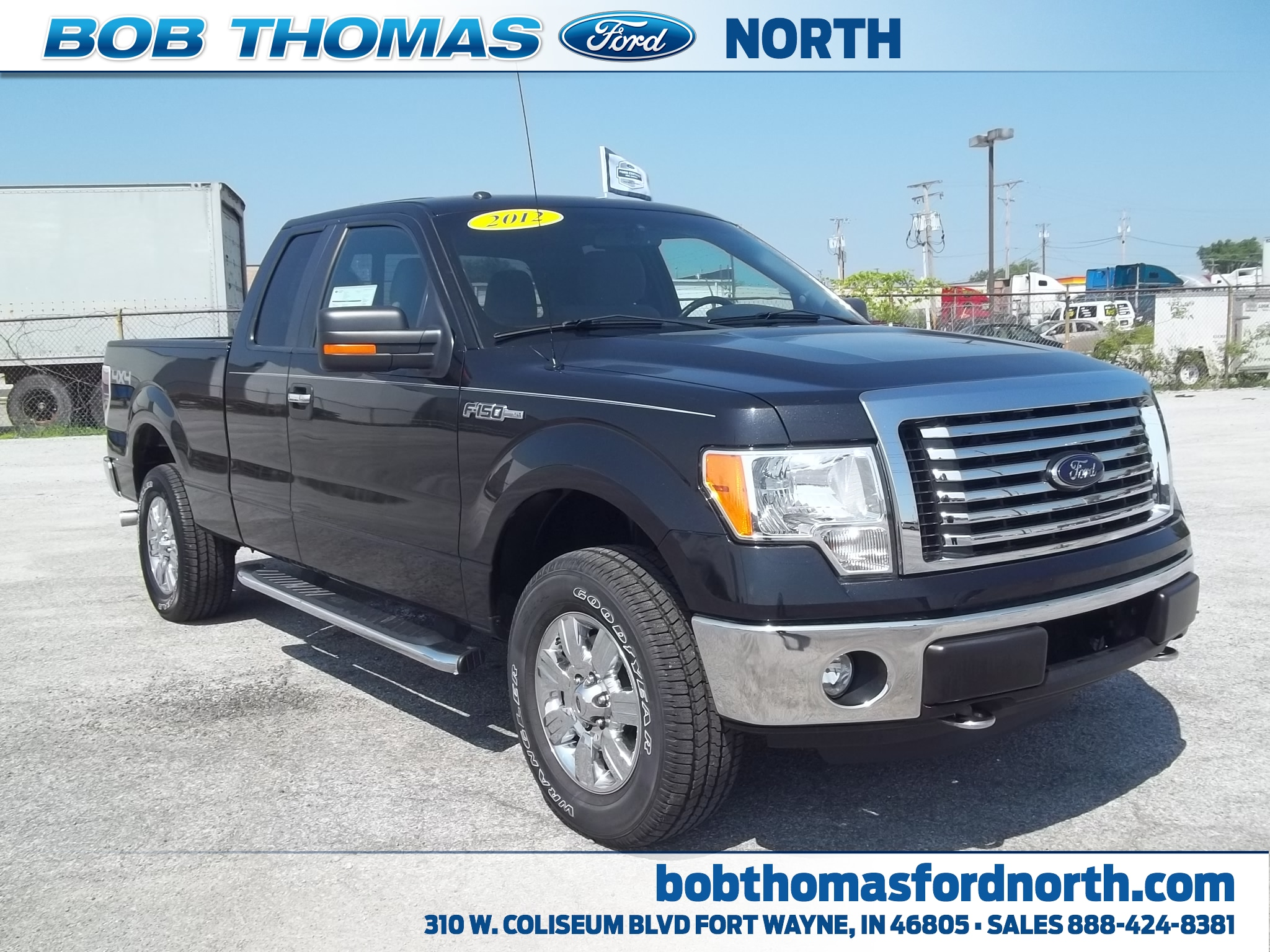 Bob Thomas Ford >> Used 2012 Ford F 150 For Sale Fort Wayne In Vin 1ftfx1ef6cfc53950