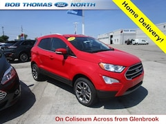 Used 2019 Ford EcoSport Titanium SUV 2L Gasoline 4WD MAJ6S3KLXKC252634 for sale in Fort Wayne, IN